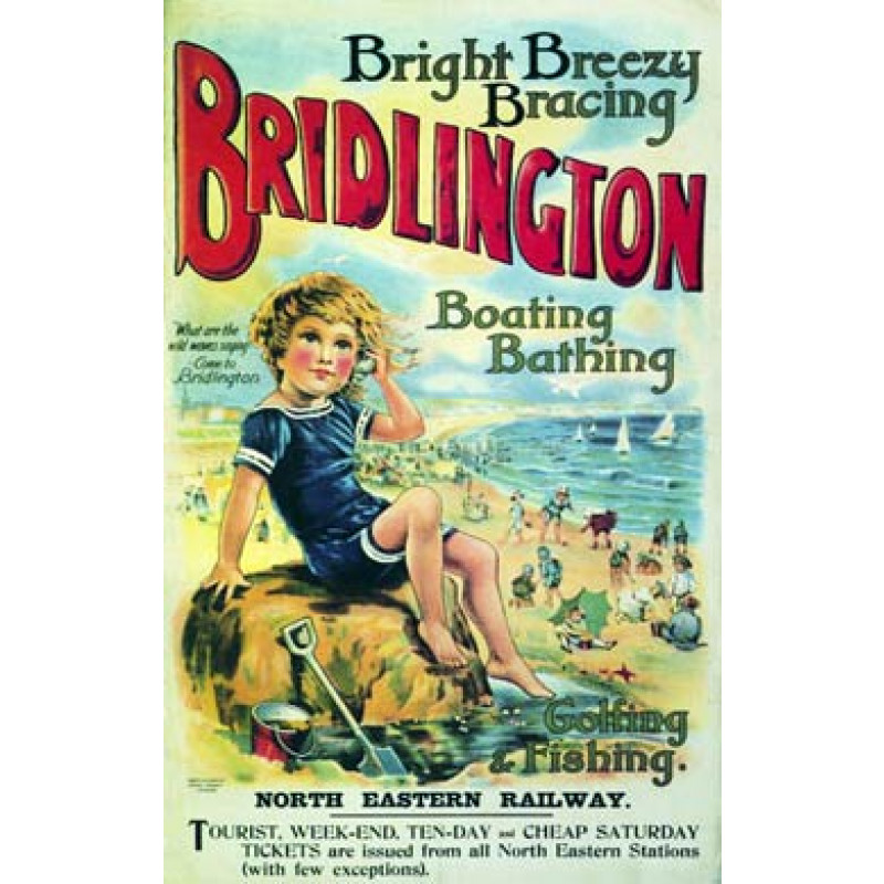 Bridlington, Rockpool, 1913