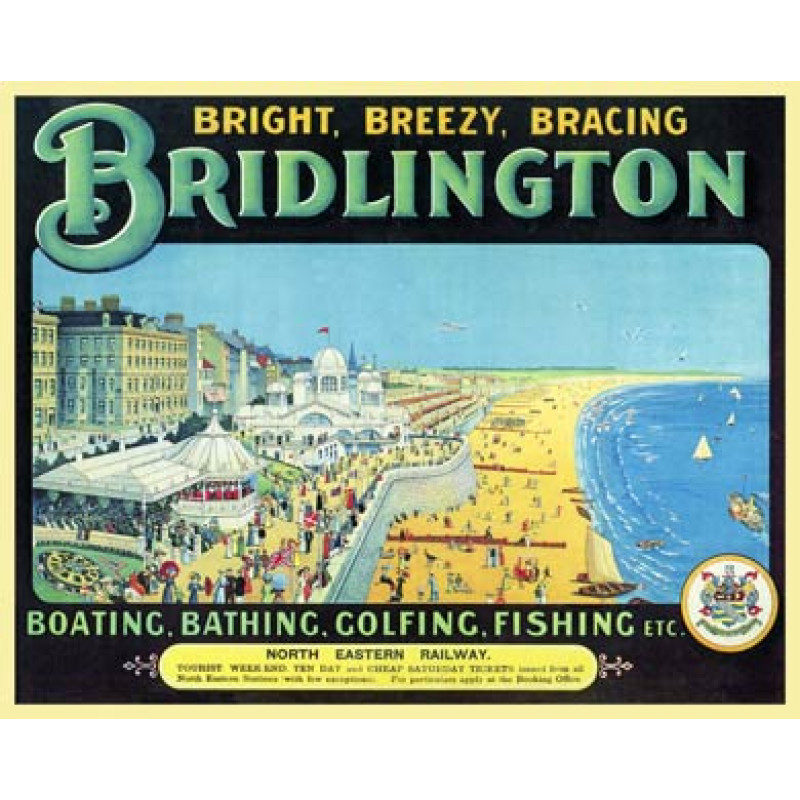Bridlington, Promenade, 1913