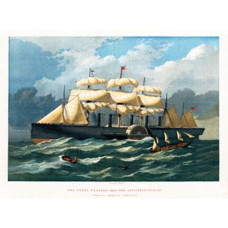 Great Eastern At Sea