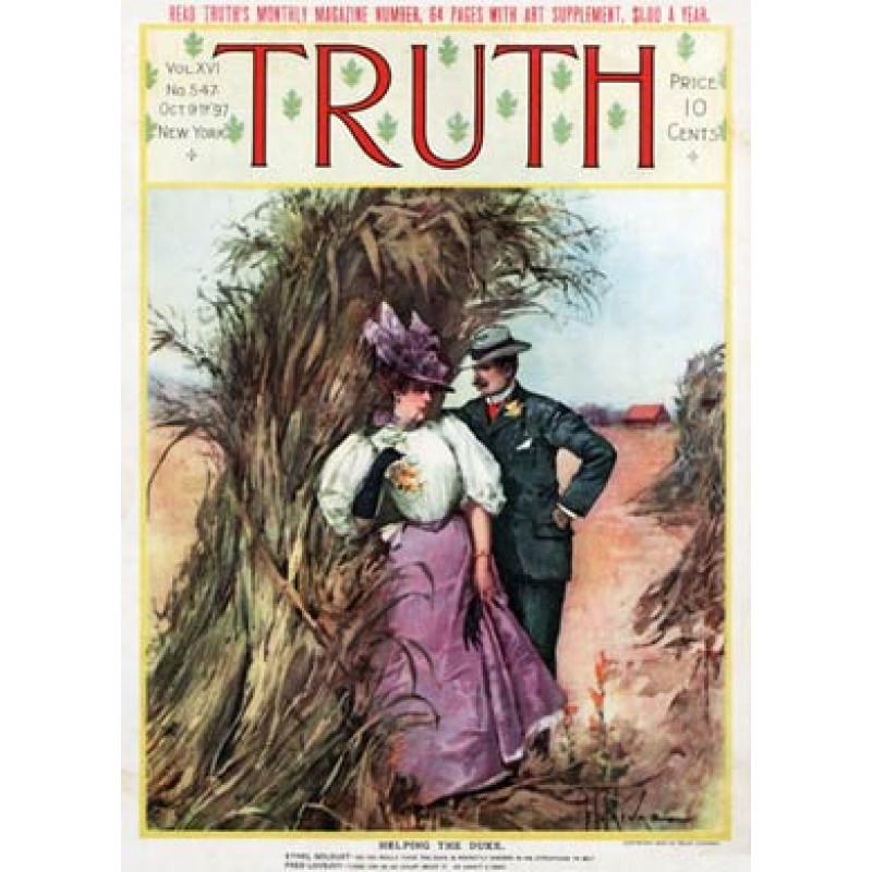 Helping The Duke, Truth, 1897