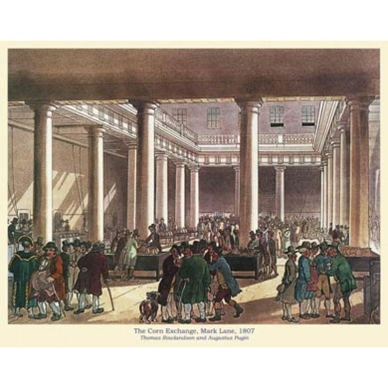 The Corn Exchange, Mark Lane, 1807