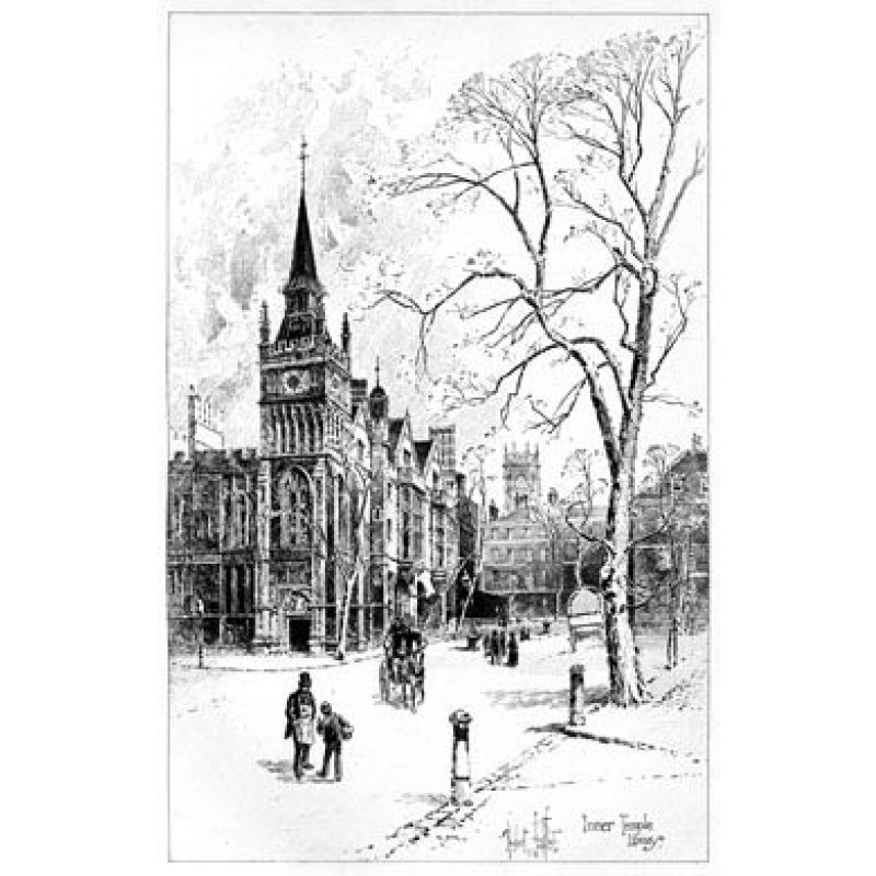 Inner Temple Library, 1892