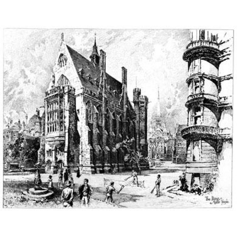 Middle Temple Library, 1892