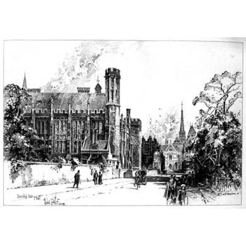 Lincoln's Inn Hall, 1892