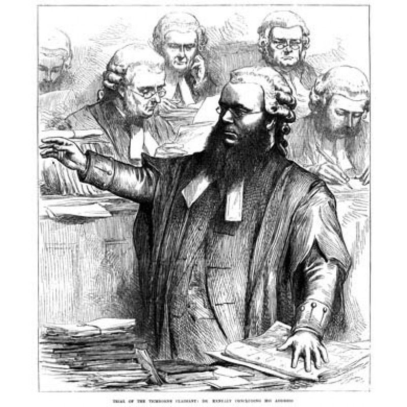 Dr. Kenealy at the Tichborne Trial, 1873