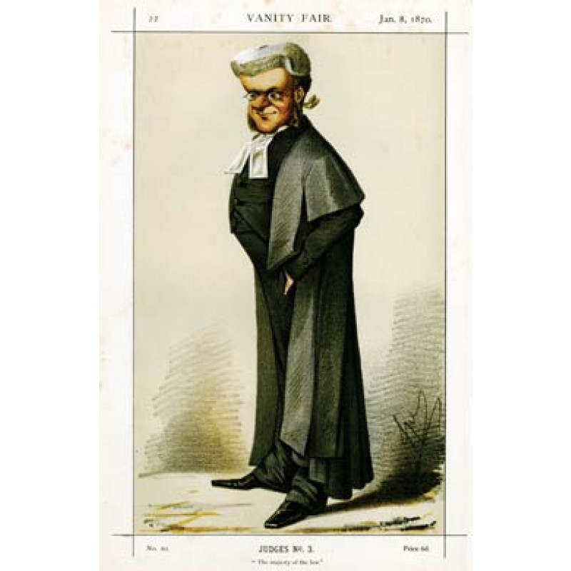 Lord Chief Justice Bovill, 1870