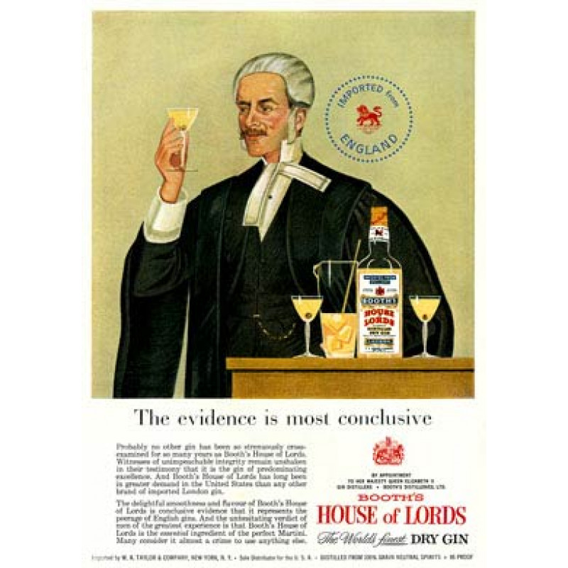 House Of Lord's Gin