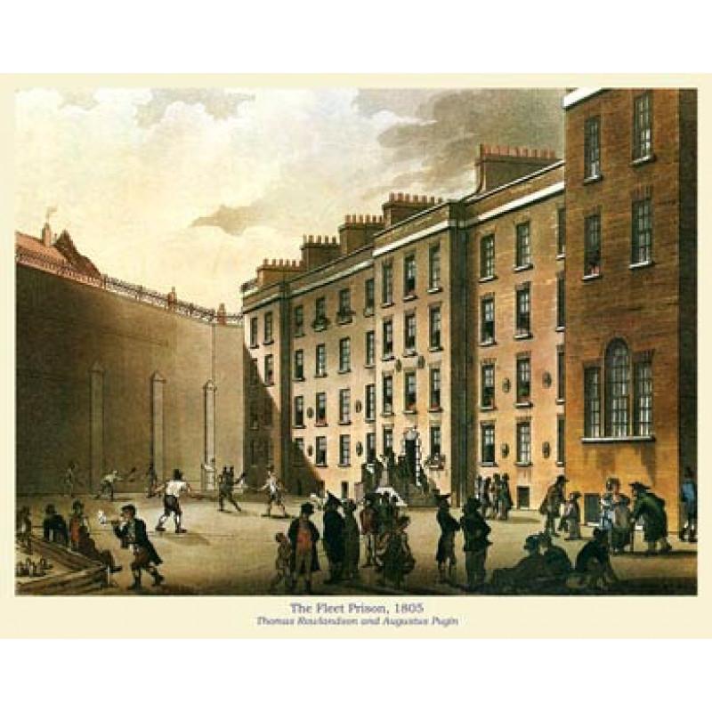 The Fleet Prison, 1805