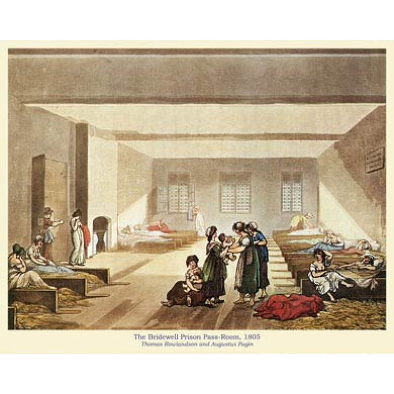 Bridewell Prison Pass-Room, 1805