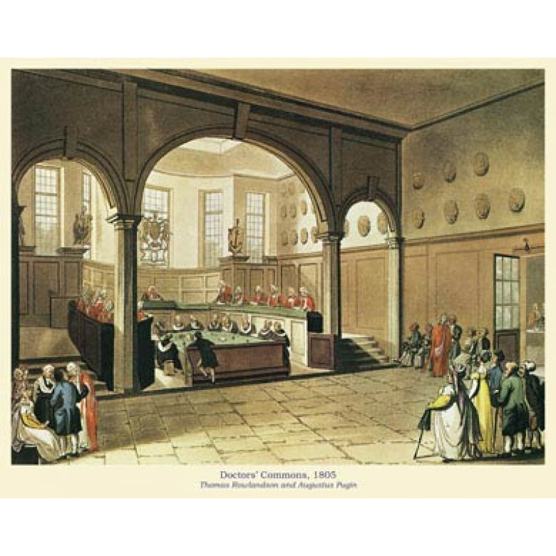 Doctors' Commons, 1805
