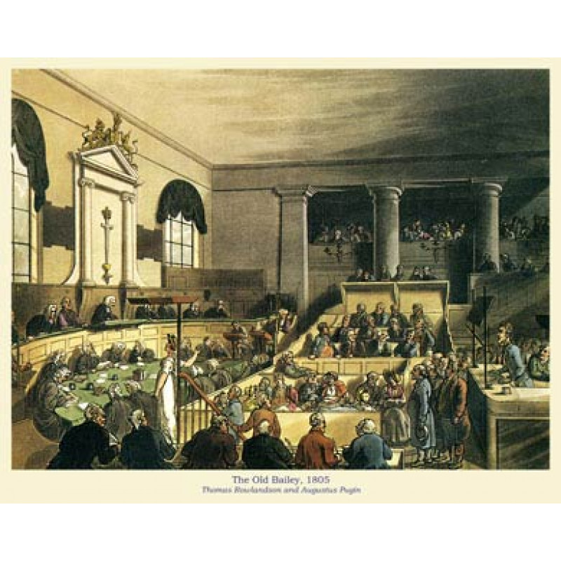 Old Bailey, 1805