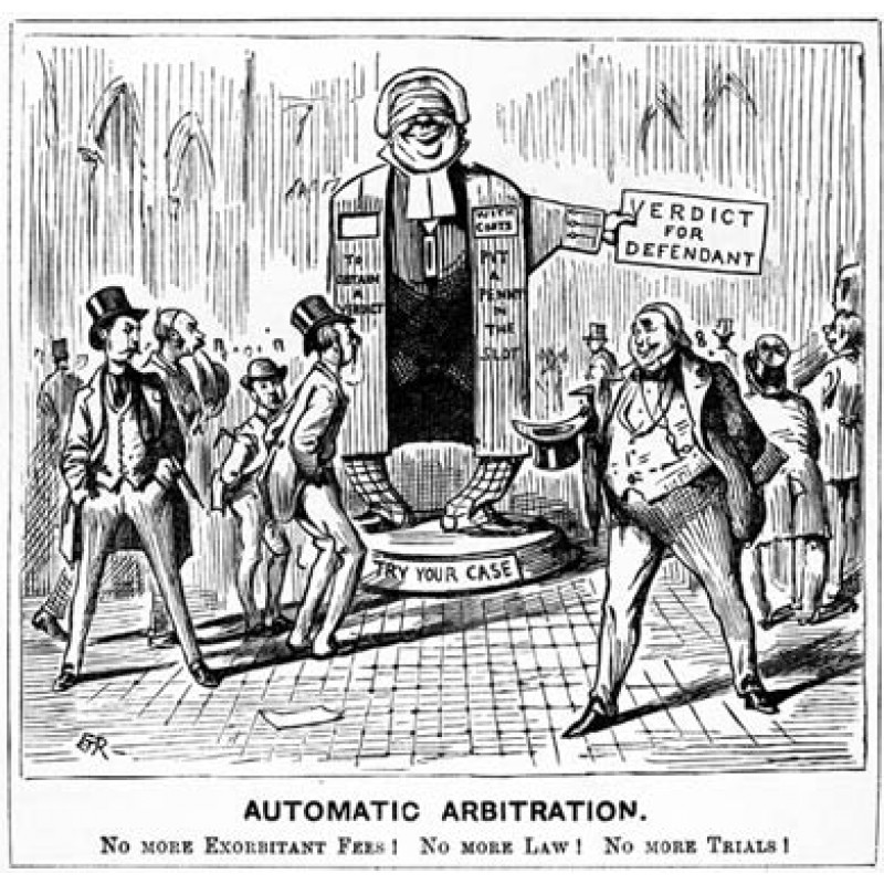 Automatic Arbitration, 1890