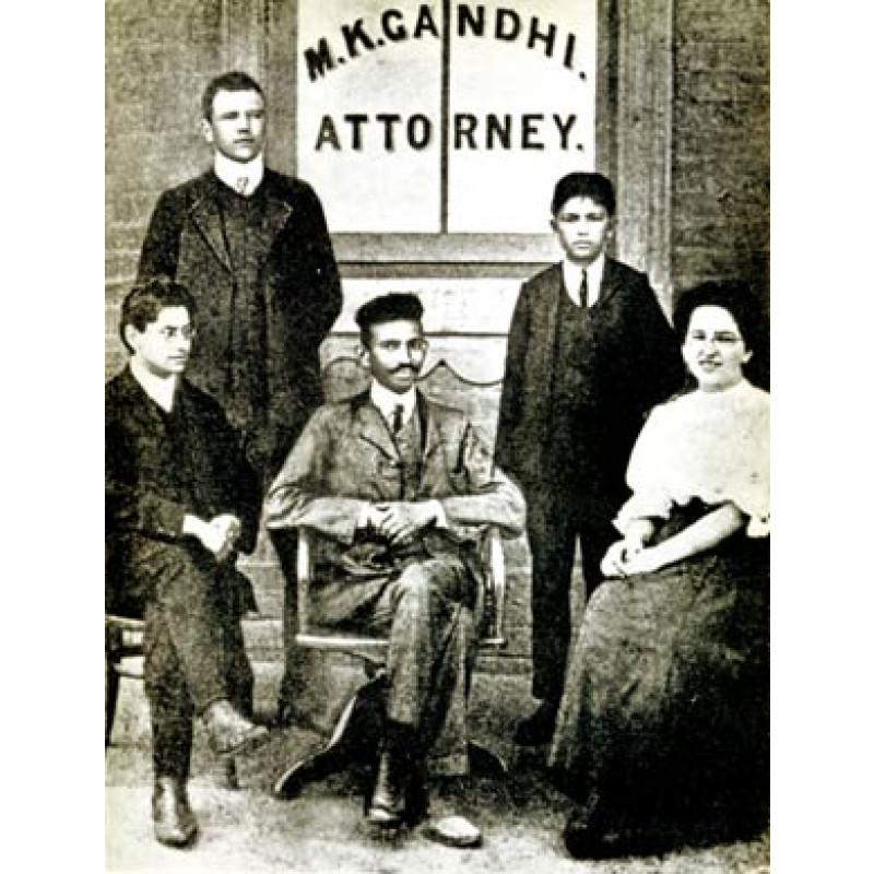 Gandhi, Johannesburg, 1907