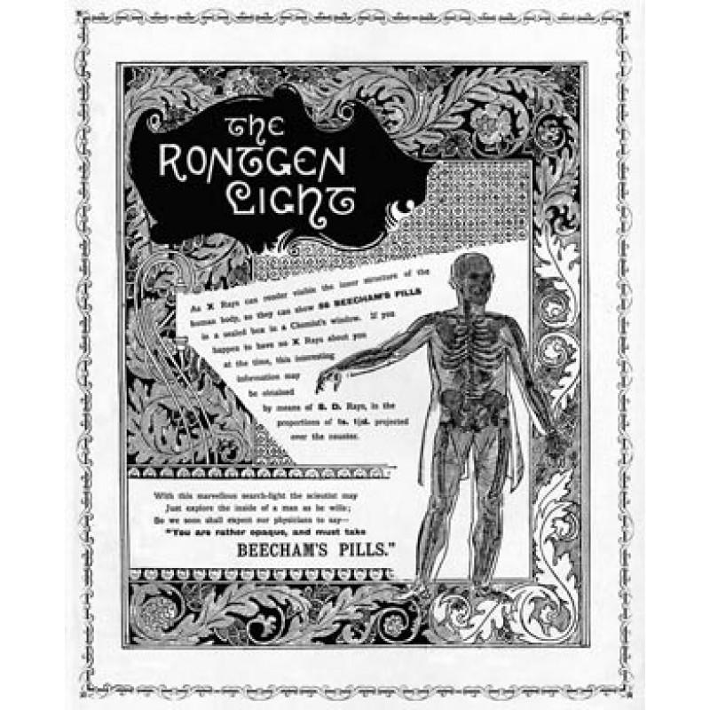 Beechams Pills, Rontgen Rays