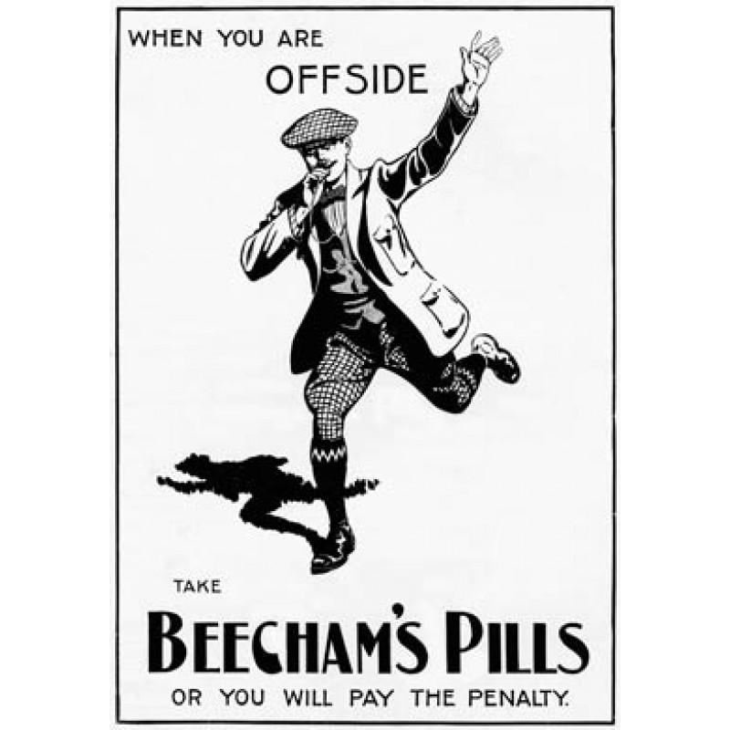 Beecham's Pills, Offside