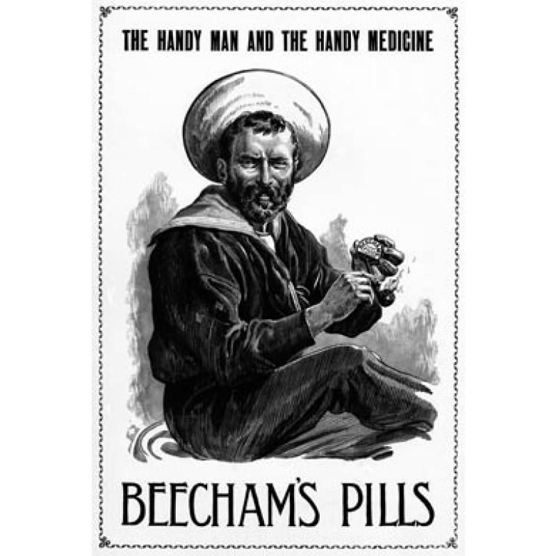 Beechams Pills, Navy