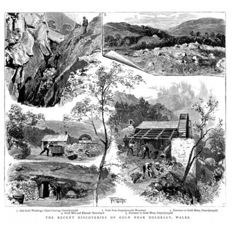 Gold Mining In Wales