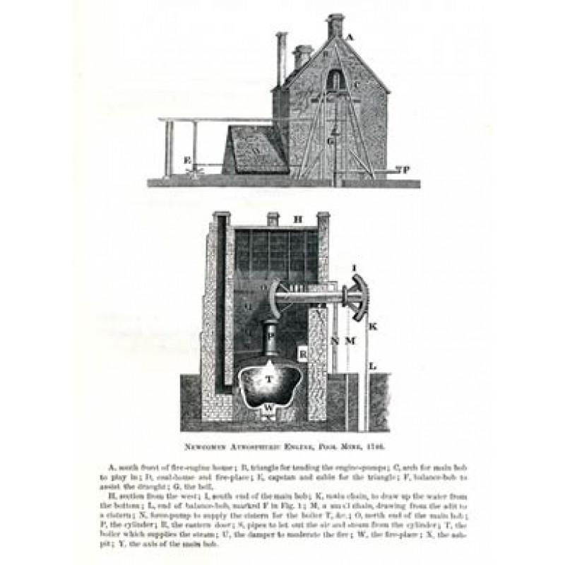 Newcomen Engine, Pool Mine, 1746
