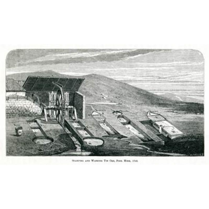 Stamping and Washing Tin Ore, 1746