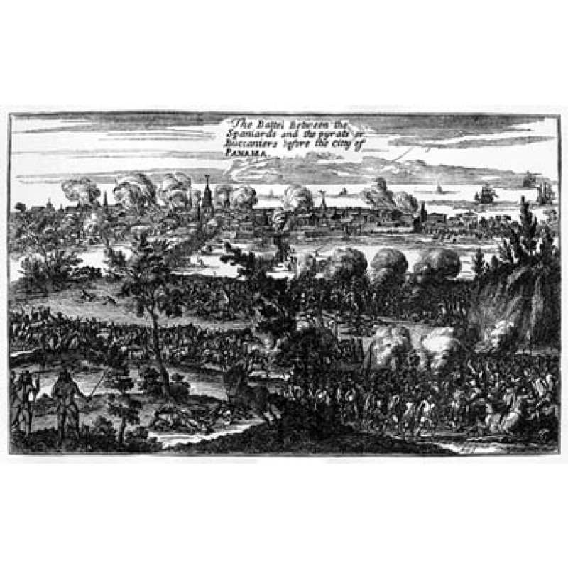 Pirates Sack Panama, 1671